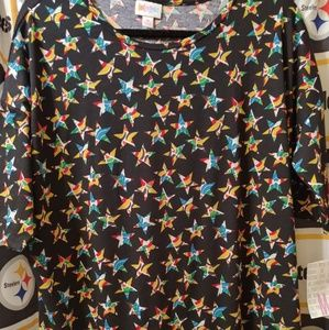NWT, medium Irma tunic from LulaRoe